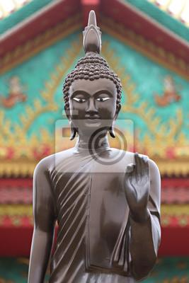Obraz Buddy w świątyni w Nakhon Ratchassima
