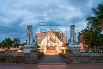 Buddyjskiej świątyni Wat Phumin w Nan, Tajlandia