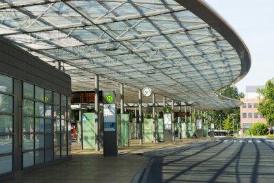 Obraz Busbahnhof w Herne, NRW, Deutschland