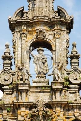 Campanario de la Catedral de Santiago de Compostela
