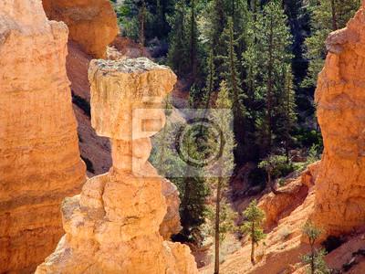 Capstone młot Thora, Bryce National Park, Utah