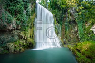 Cascada en el Monasterio de Piedra, Saragossa (España)