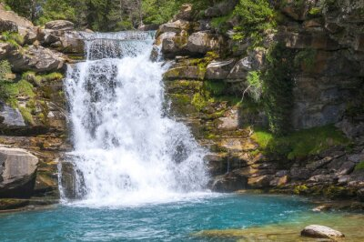 Obraz Cascadas en el Valle de Ordesa, Pirineos (España)