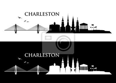 Obraz Charleston skyline - United States of America - USA - South Carolina
