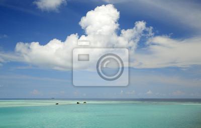chmury i morza