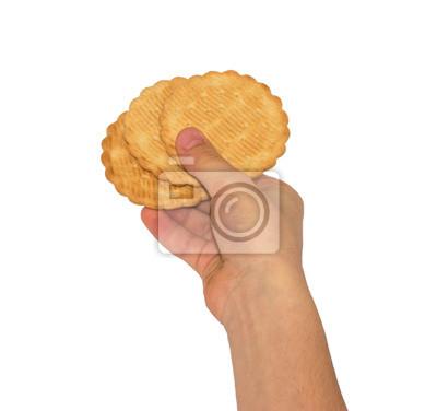 Ciasteczka w rękach dzieci