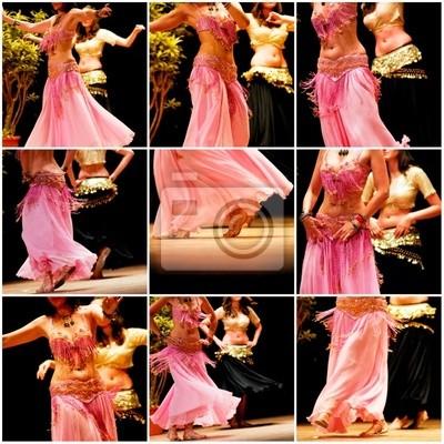 collage danza del ventre