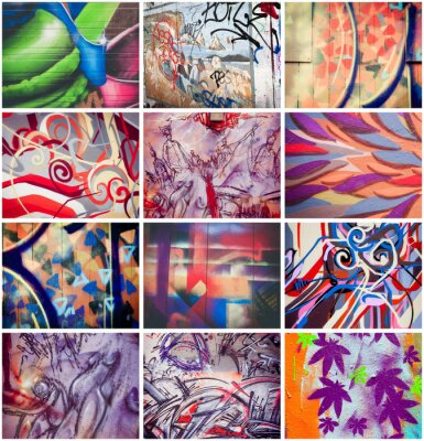 Obraz Colores graffiti