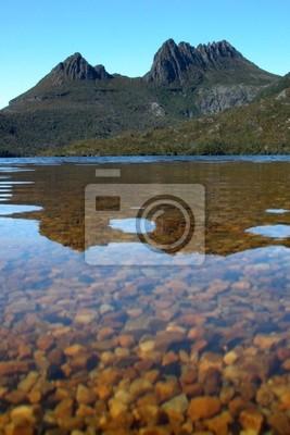 Cradle Mountain i jezioro dove