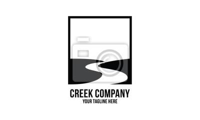 Obraz creek logo design inspirations