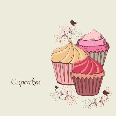 Obraz Cupcake projektu