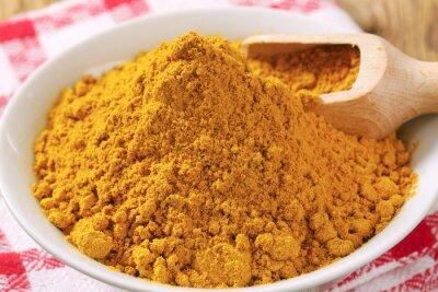 Obraz curry w proszku
