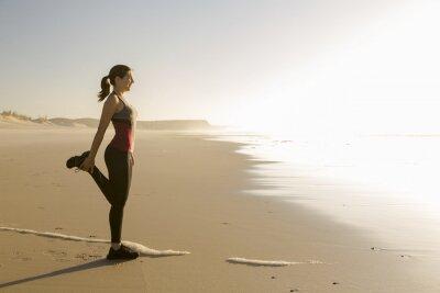 Obraz Ćwiczenia na plaży