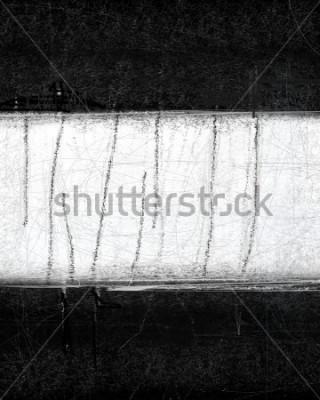 Obraz Czarno-białe abstrakcyjne malarstwo artystyczne
