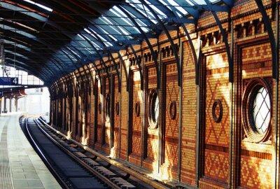 Obraz Czekając na pociąg
