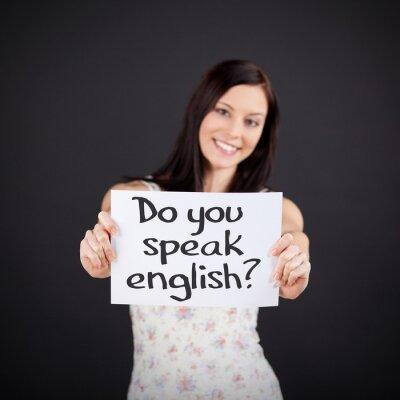 Obraz Czy mówisz po angielsku?