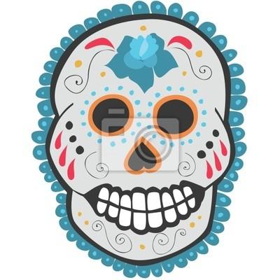 Obraz Day of the dead czaszki cukru