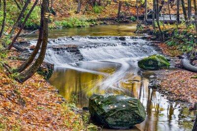 Obraz Deer Creek Waterfall Lizać