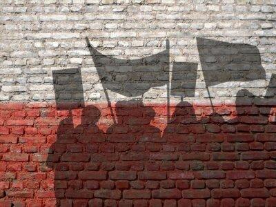 Obraz Demonstracja w Polsce