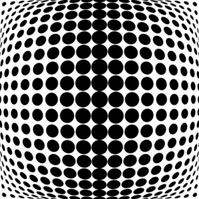 Obraz Design monochrome dots background