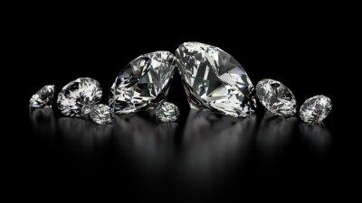 Obraz diamenty