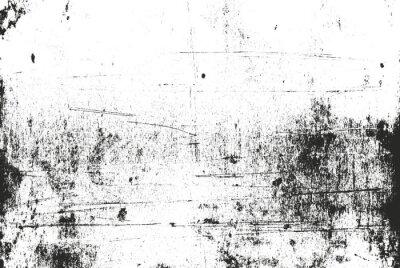 Obraz Distressed nakładki tekstury betonie. grunge. abstrakcyjne półtonów ilustracji wektorowych