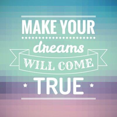 Obraz Dodać swoje marzenia