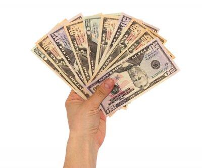 Dolarów w ręku