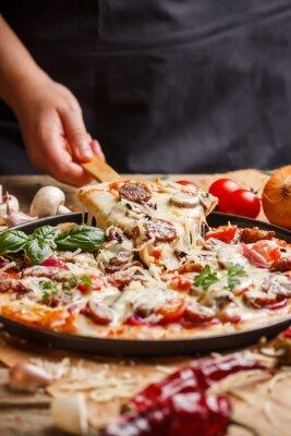 Obraz Domowej pizzy
