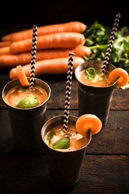 Obraz Domowy sok z marchwi