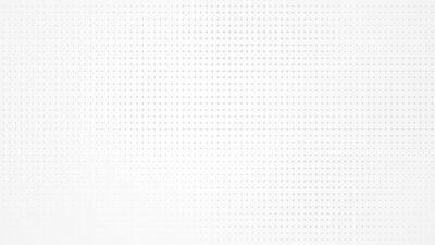 Obraz Dot white gray pattern gradient light texture background. Abstract  technology big data digital background. 3d rendering.