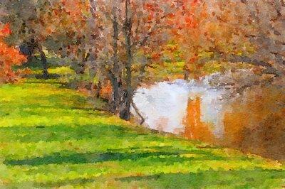 Obraz Down By The Lake