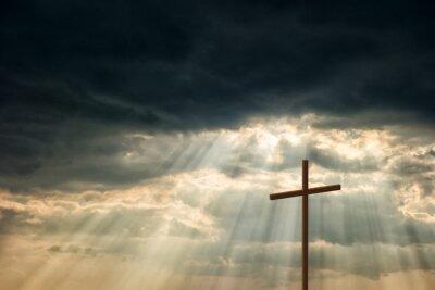 Obraz Drewniany krzyż