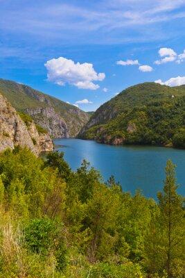 Drina river near Visegrad - Bosnia and Herzegovina