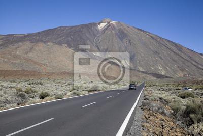 Droga na Teide, Teneryfa, Wyspy Kanaryjskie.