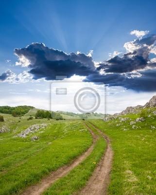 Droga rut w górach