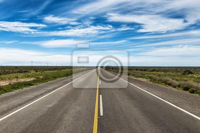 Droga w Półwyspie Valdes