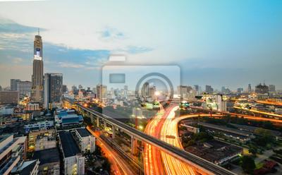 Drogi ekspresowej w Bangkoku