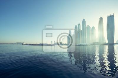 Obraz Dubai Marina, Zjednoczone Emiraty Arabskie