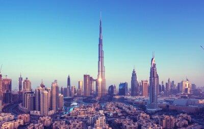 Obraz Dubai skyline, Zjednoczone Emiraty Arabskie