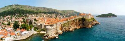 Obraz Dubrovnik walls panorama