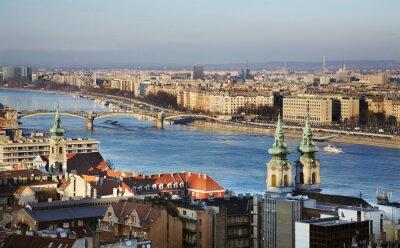 Obraz Dunaj w Budapeszcie. Węgry