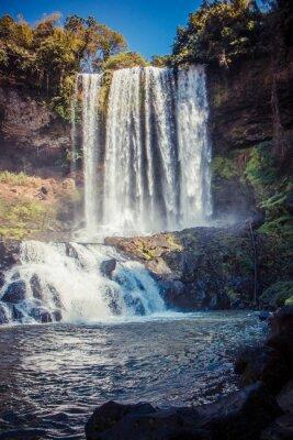 Obraz duży piękny wodospad w parku Dambri, Wietnam