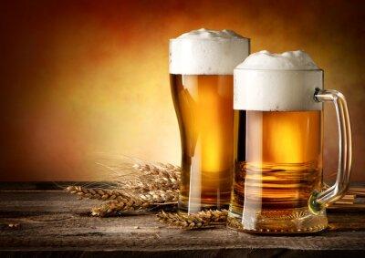 Obraz Dwa kufle piwa
