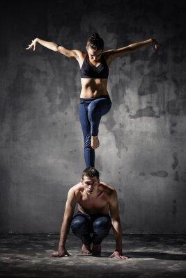 Obraz Dwie tancerki