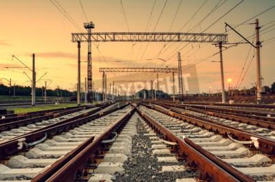Obraz Dworzec kolejowy