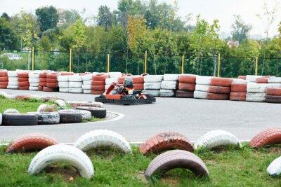 Obraz Dzieci Karting