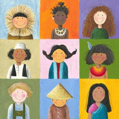 Obraz dzieci świata