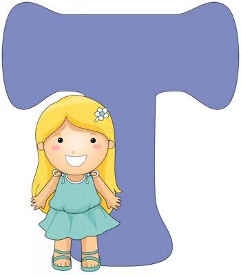 Obraz Dzieciaków Alfabet