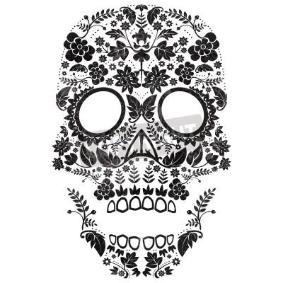 Obraz Dzień Ilustracja czaszki cukru Martwego